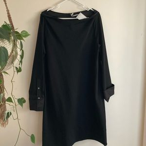 COS black dress NWT